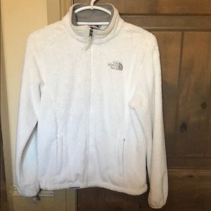 North face small fleece white size Small